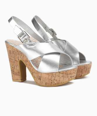 1280f1cf469c2b Silver Sandals - Buy Silver Sandals online at Best Prices in India ...