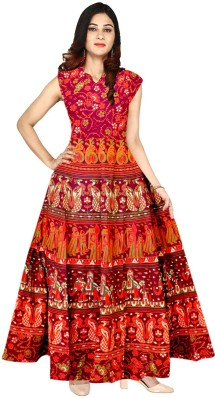 Red and White Dresses for Women