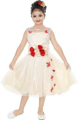 05ab94778b1 Girls Midi Knee Length Party Dress. ₹263. ₹999. 73% off · Trending