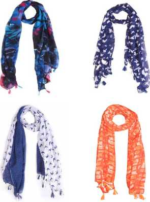 4092504a5 Scarves & Stoles - Buy Stoles & Scarves for Women Online at Best ...