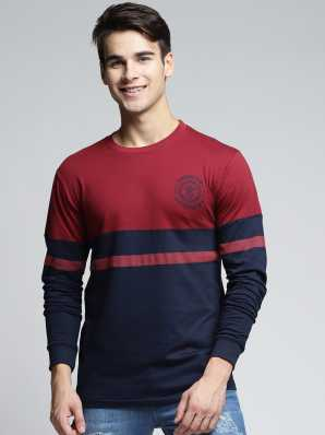 9adc2c0d Round Neck T Shirts for Men's Online at Best Prices In India ...
