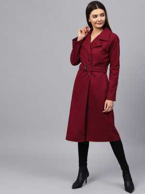 58fa6d684f21 Ladies Coats - Buy Winter Coats For Women / Overcoats Online at Best ...