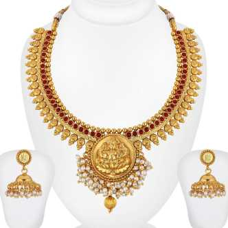 Temple Jewellery - Buy Temple Jewellery Designs online at