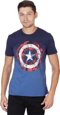 c2b34770 Captain America Tshirts - Buy Captain America Tshirts Online at Best Prices  In India | Flipkart.com