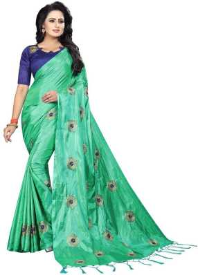 ea16e372a5 Green Sarees - Buy Green Sarees Online at Best Prices In India ...
