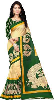 7a9fdab47b Green Sarees - Buy Dark Green Sarees Online at Best Prices In India ...
