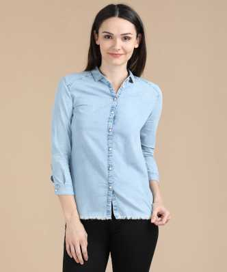 cc622d20539732 Women's Shirts Online at Best Prices In India|Buy ladies' shirts ...