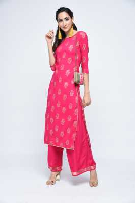 e3105c100b7 Kurta And Palazzo Set Ethnic Sets - Buy Kurta And Palazzo Set Ethnic ...