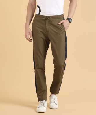 2ad96c51b8b5 Tussar Silk Track Pants - Buy Tussar Silk Track Pants Online at Best Prices  In India