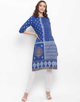43a1becc187 Cotton Kurtis - Buy Cotton Kurta Online at Best Prices In India ...