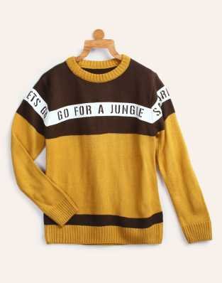 0ae864777 Sweaters For Boys - Buy Boys Sweaters Online At Best Prices In India ...