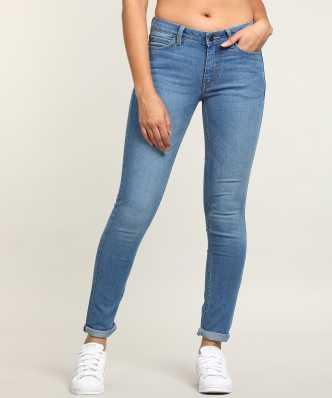 5c0ec55a97e4 Skinny Women Blue Jeans. ₹893. ₹1