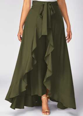 2e8539443d5 Flared Skirts - Buy Flared Skirts online at Best Prices in India ...