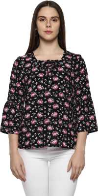 4642a5e0490 Floral Tops - Buy Floral Tops Online For Women at Best Prices In ...