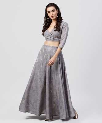 7cf1c898ecd0b0 Top And Skirt Set - Buy Top And Skirt Set Ethnic Sets Online at Best ...