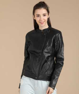 3bf139c5f Jackets for Women - Buy Ladies Leather Jackets Online at Best Prices ...
