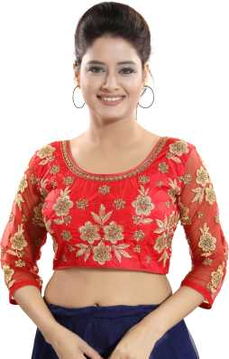57b3c7ee71a Designer Blouses - Buy Heavy Designer Blouses online at best prices -  Flipkart.com