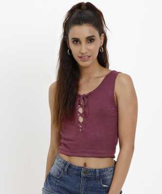 0cd0c1e8d186df Forever 21 Tops - Buy Forever 21 Tops Online at Best Prices In India ...