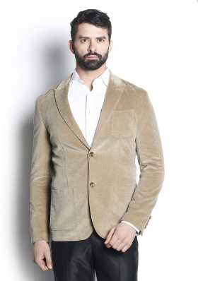 91bd449379a Blackberrys. Solid Single Breasted Casual Men Full Sleeve Blazer