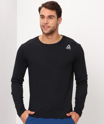 reebok tshirts buy reebok tshirts online at best prices in india  Neue Reebok Blau Tshirt Herren Online Bestellen P 442 #8