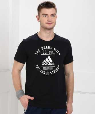 Adidas Tshirts - Buy Adidas T-shirts   Min 50% Off Online for men ... daea4cd1b318