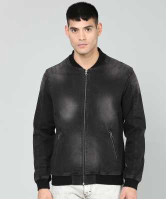 6bdc4c5201d2 Black Jackets - Buy Black Jackets Online at Best Prices In India ...
