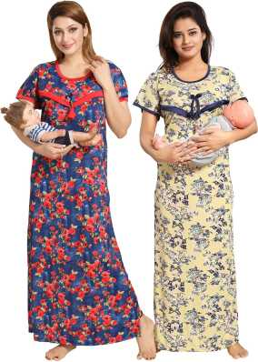 10cedc1dad Romantic Floral Night Dresses Nighties - Buy Romantic Floral Night ...