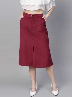 8bb848f30c2c Midi Skirts - Buy Midi Skirts Online at Best Prices In India | Flipkart.com
