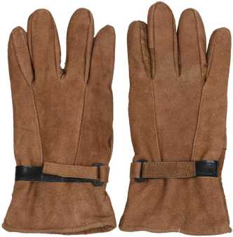 24865f18420c5 Leather Gloves - Buy Leather Gloves online at Best Prices in India ...