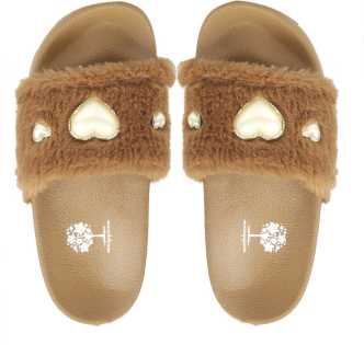 d274d4511ccd Fur Slippers - Buy Fur Slippers online at Best Prices in India ...