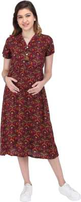 852d5da8f6 Maternity Dresses - Buy Pregnancy Dresses Online at Best Prices In ...