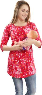 c00c14741aa Maternity Tops - Buy Nursing   Feeding Tops Online at Best Prices In ...