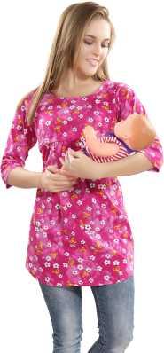 46188d9097e Maternity Tops - Buy Nursing / Feeding Tops Online at Best Prices In ...