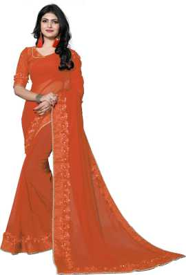 9499cd74fb6 Heavy Work Sarees - Buy Heavy Net Sarees With Stone Work Online at ...