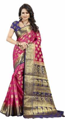 67622d9046fbe6 Kanjivaram Silk Sarees - Buy Kanjivaram Silk Sarees online at Best Prices  in India