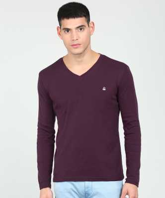 f231d14d Purple Tshirts - Buy Purple Tshirts Online at Best Prices In India ...