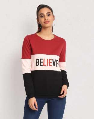 1d414443b5c Sweatshirts - Buy Sweatshirts   Hoodies for Women Online at Best ...