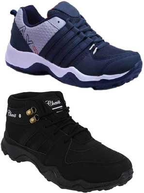 2c8fb705b4f8 Black Shoes - Buy Black Shoes Online For Men   Women At Best Prices ...