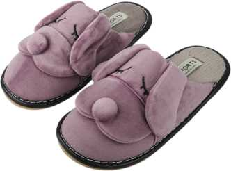 88df7e0e0232 Fur Slippers - Buy Fur Slippers online at Best Prices in India ...