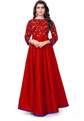 239d4de77312e Red Gowns - Buy Red Gowns Online at Best Prices In India | Flipkart.com