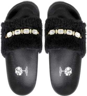 554909b0489 Fur Slippers - Buy Fur Slippers online at Best Prices in India ...