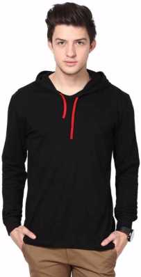 fbc69510071e Hooded Tshirts - Buy Mens Hoodied Jackets Online at Best Prices in ...