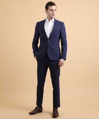 5f63c2dab Navy Blue Suit - Buy Navy Blue Suit online at Best Prices in India ...