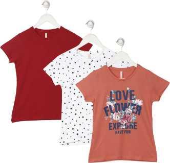 cfdef7c3de2 Girls Kids T-Shirts and Tops Online Store Flipkart.com