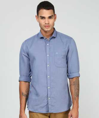 52c9f6eca Linen Shirts - Buy Linen Shirts online at Best Prices in India ...