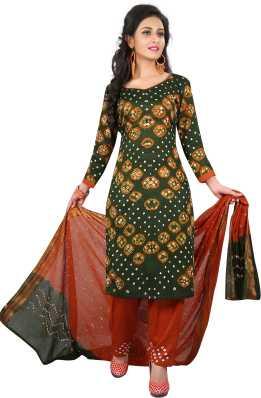 1de1a4438174 Bandhani Dress Material - Buy Bandhani Dress Material online at Best ...