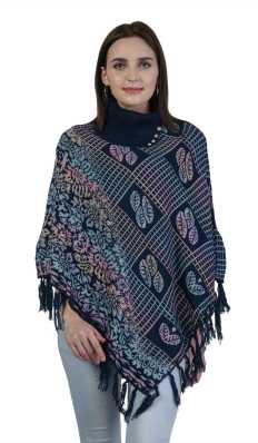 Ponchos - Buy Poncho Tops / Pochu Dress Online for Women at