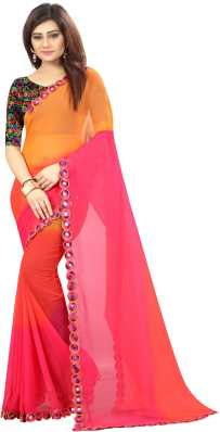 Mirror Work Sarees Buy Mirror Work Sarees Online At Best Prices In