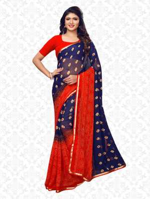 3ba2db9ae Bandhani Sarees - Buy Bandhani Sarees   Jaipuri Sarees Online at Best Prices  In India