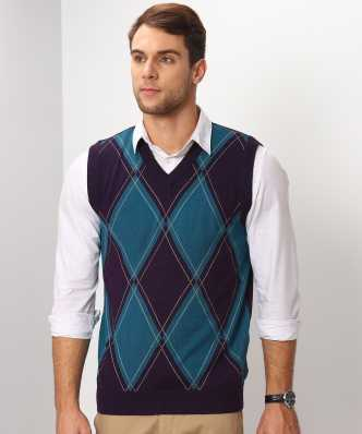 f5515aea2 Sleeveless Sweaters - Buy Sleeveless Sweaters Online at Best Prices ...